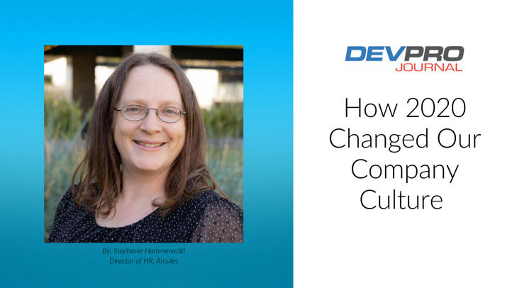 Stephanie How 2020 Changed Our Company Culture